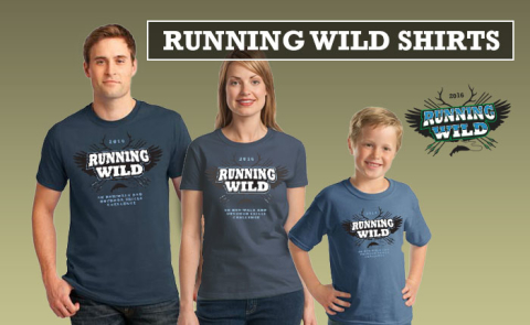New Running Wild shirts for 2016