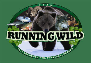 Team Running Wild T-Shirt Artwork